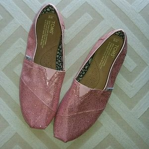Sparkly Toms Flats